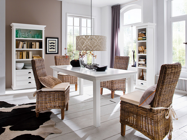 How to Create an Organized Work-Space in Your Dining Room