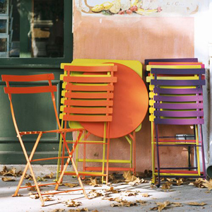 Folding Chairs For Café And Patios Bistro
