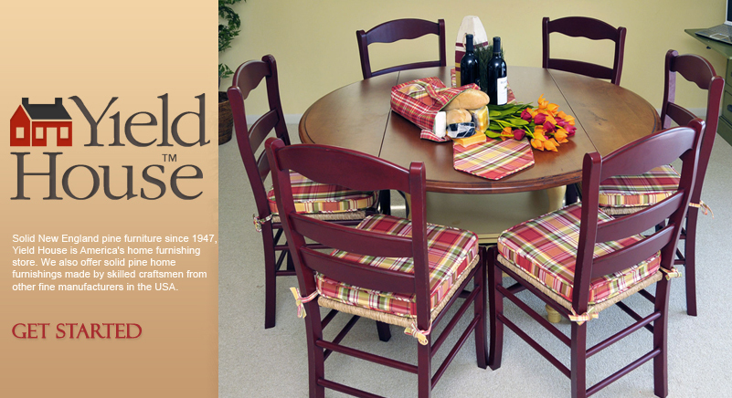 Yield House Pine Furniture made in the USA