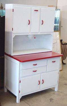 An enamel Hoosier from more modern times