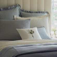 View products in the Camden Navy/Cream Stripe Duvet Bedding by Taylor Linens category