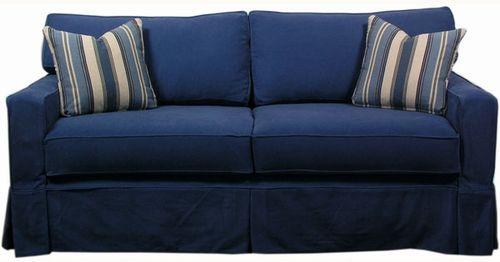 Caroline Slipcovered Sofa