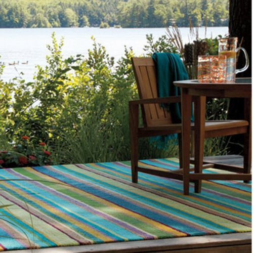 Summer-Themed Hooked Rugs | Indoor Outdoor Rugs | American Country