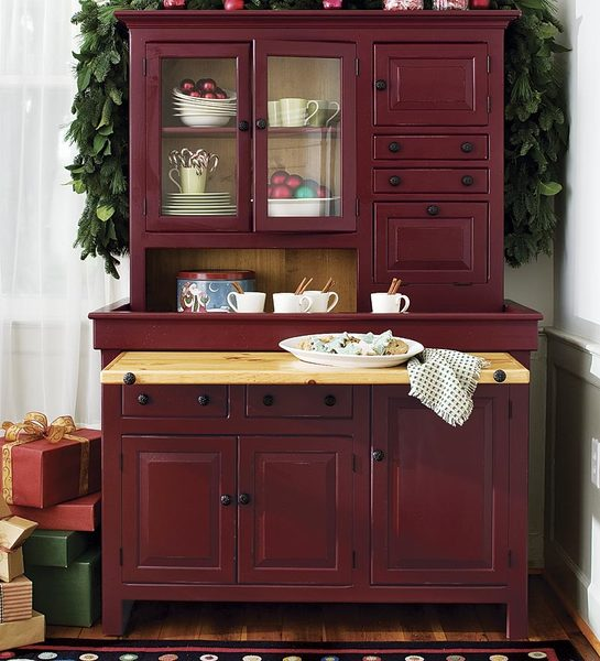 Hoosier Cabinets, Hutches & Buffets