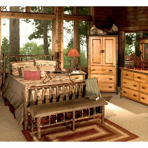 hickory bedroom furniture american country