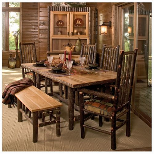 Hickory Dining Room Furniture | American Country
