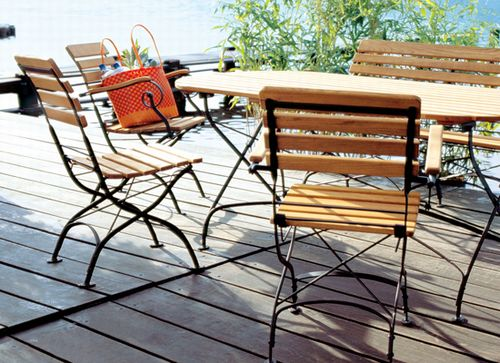 Teak Folding Chairs U0026 Folding Tables| Smith U0026 Hawken Chairs Part 16