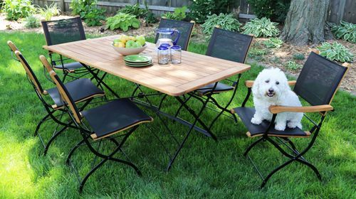 Folding Chairs | Outdoor Mesh Folding Chairs