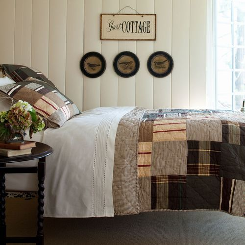 Watson Patchwork Bedding by Taylor Linens
