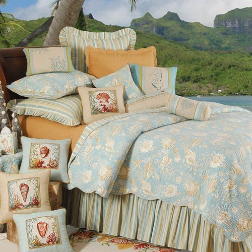 Natural Shells Bedding by C&F