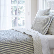 View products in the Bergen Stripe Black Bedding by Taylor Linens category