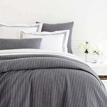 View products in the Chalk Stripe Grey Matelasse Bedding by Pine Cone Hill category