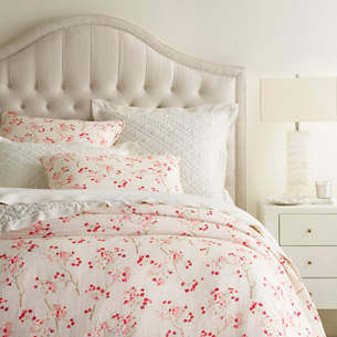 Cherry Blossom Linen Bedding by Pine Cone Hill