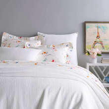 View products in the Kelly White Matelasse Bedding by Pine Cone Hill category
