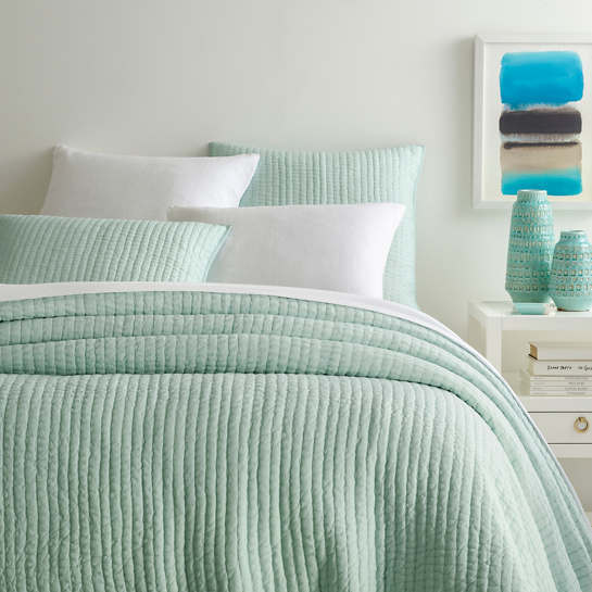 Lana Voile Mist Bedding by Pine Cone Hill