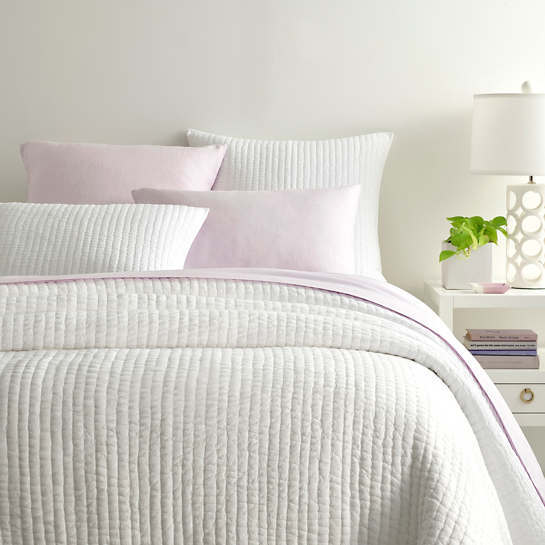 Lana Voile White Bedding by Pine Cone Hill