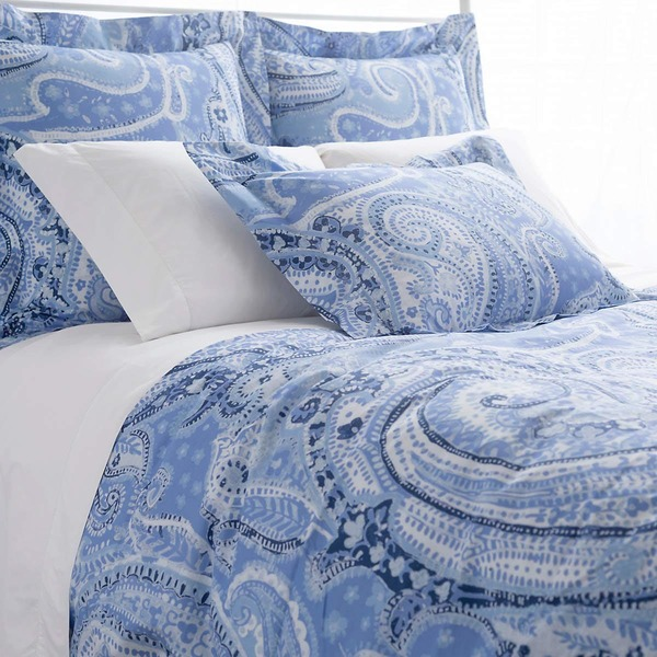 Lyric Paisley Blue Bedding by Pine Cone Hill