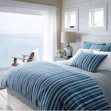 View products in the Mediterranean Ticking Linen Bedding by Pine Cone Hill category