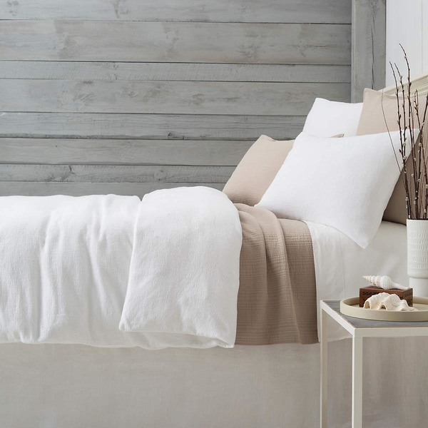 Montauk White Bedding By Pine Cone Hill