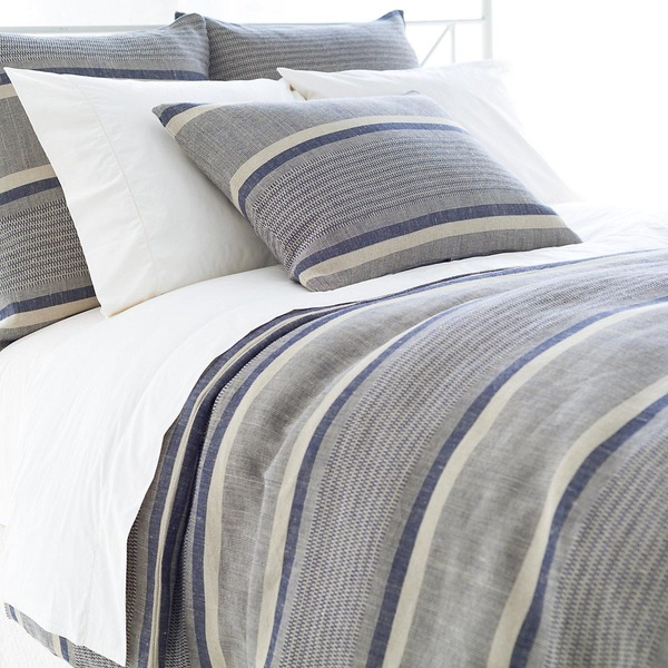 Morocco Linen Indigo Bedding by Pine Cone Hill