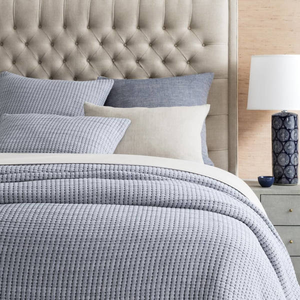Pick Stitch Navy Bedding Collection by Pine Cone Hill
