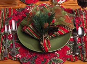 View products in the Holiday Table Linens category