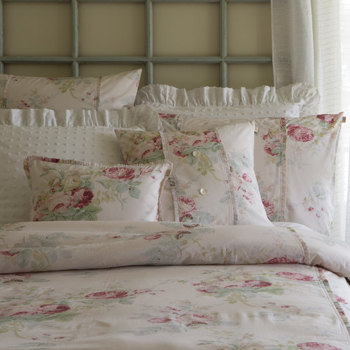 Shore Rose Petal Bedding by Taylor Linens