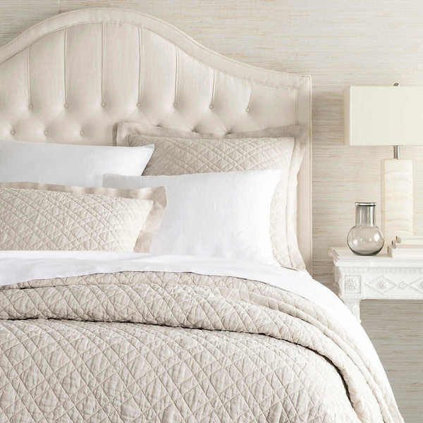 Washed Linen Natural Bedding by Pine Cone Hill