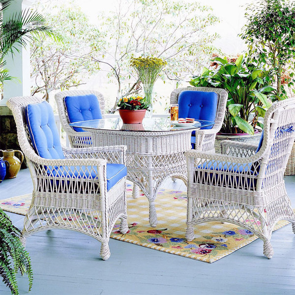 Wicker Dining Room Sets