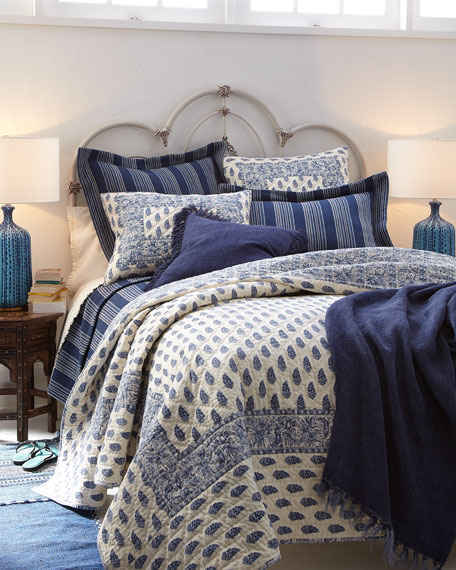Annette Blue Bedding By Pine Cone Hill American Country