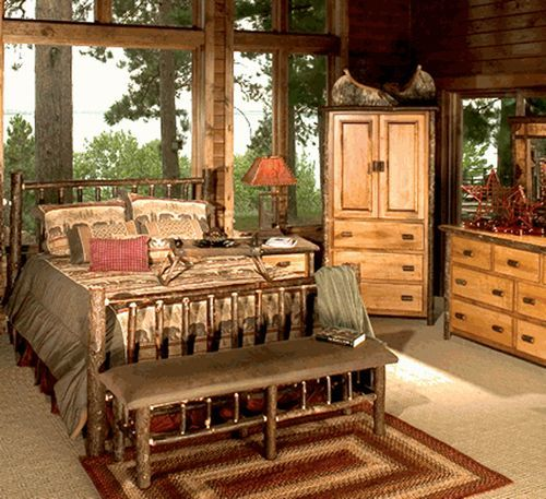 Hickory Wood Furniture & Rustic Furniture Handcrafted for Your Home