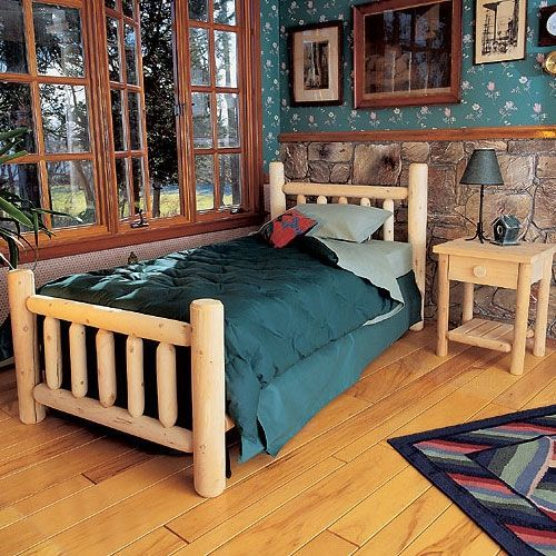 Log Cabin Furniture  Cedar Furniture  Log Bedroom Furniture ...