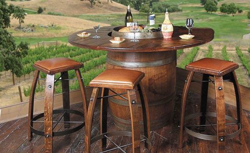Wine Barrel Tables | Pub Tables | American Country