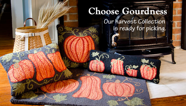 Autumn Pillows & Rugs
