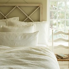 View products in the Hudson Cream Matetassé Quilt by Taylor Linens category