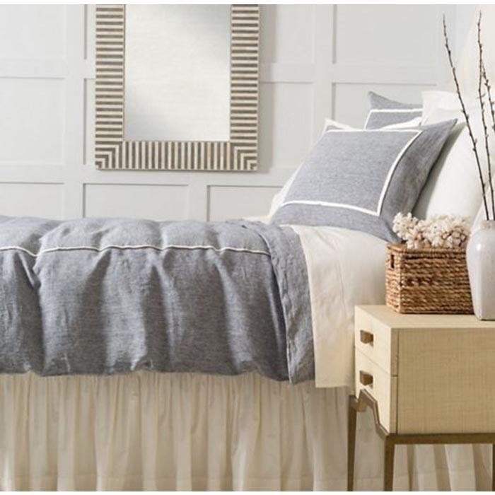 keaton linen indigo bedding by pine cone hill - Pine Cone Hill Bedding