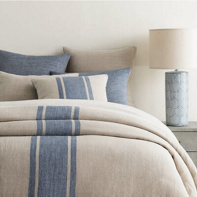 Maxwell Linen Bedding by Pine Cone Hill