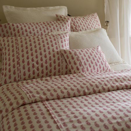 Paisley Bedding by Taylor Linens