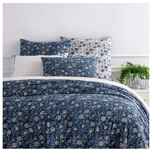 Pasadena Resist Bedding by Pine Cone Hill