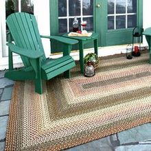 Outdoor Braided Rugs | Indoor Outdoor Braided Rug | American Country