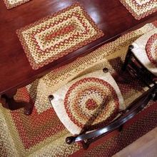 Braided Chairpads | Braided Placemats | Braided Stair Treads | American Country
