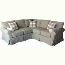 Slipcovered Sectionals & Slipcovered Sofas Configurable for Any Space