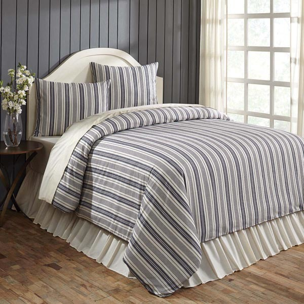 Traditional French Stripe Bedding