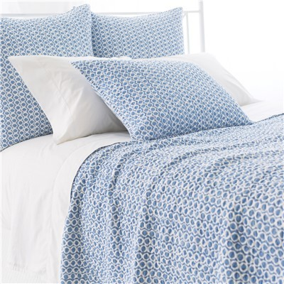 Tyler French Blue Quilt by Pine Cone Hill