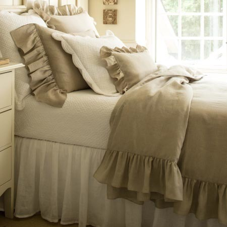 Verandah Natural Bedding by Taylor Linens