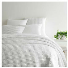 View products in the Waffle White Matelasse Bedding by Pine Cone Hill category