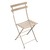 Metal Bistro Folding Chairs Nutmeg