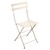 Metal Folding Bistro Chairs Linen