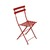 Metal Folding Bistro Chair Chili