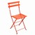 Metal Folding Bistro Chairs Capucine